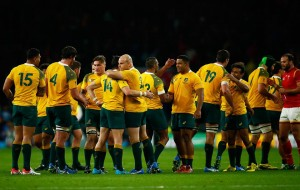 I think the England and Wales wins sit in the top five Wallabies wins of the last 25 years. Image via Wallabies Facebook