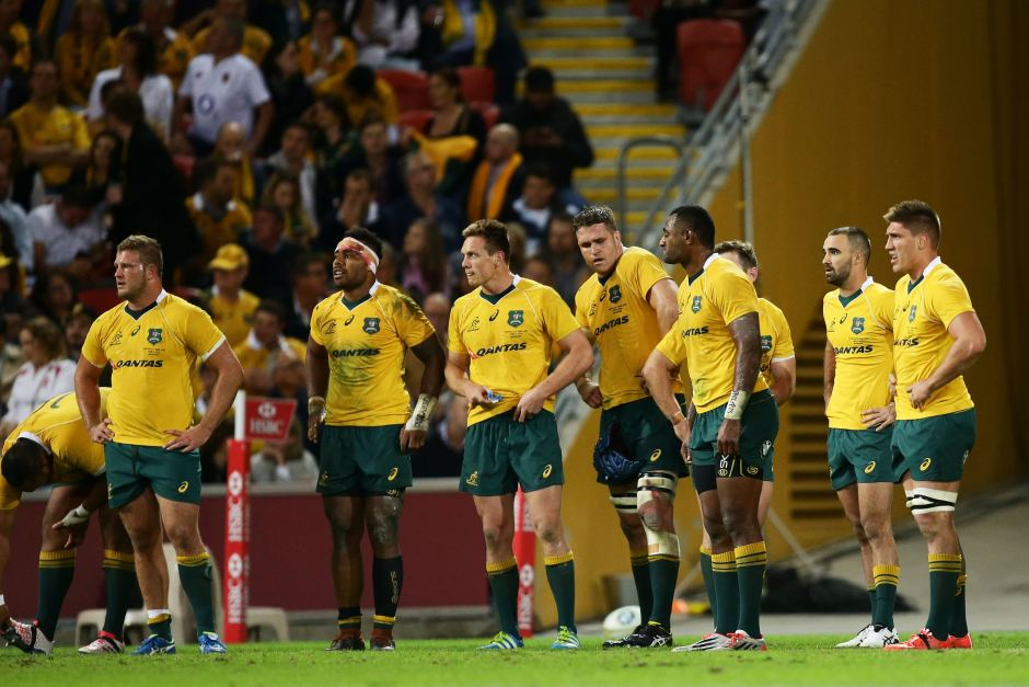 Straight from the notepad of Captain Obvious, the Wallabies' discipline - or lack thereof – was a massive issue throughout the, and essentially allowed England into the game. Image: ABC Grandstand